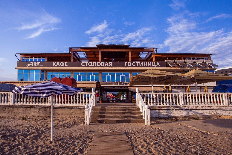 Фото пляжа в пос. лермонтово