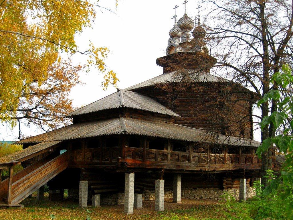 Музей деревянного зодчества в костроме фото