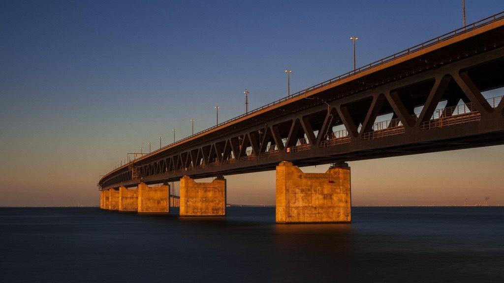 день мотоциклиста фото открытия моста швеция дания чествовали тех