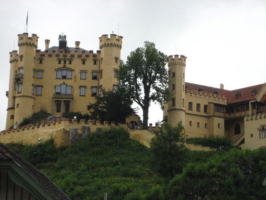 фото замок хоэншвангау германия