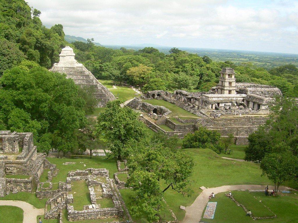 Обои мексика, город майя, древние цивилизации, паленке. Города foto 7