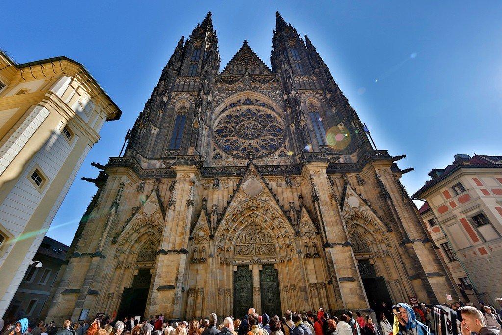 Собор Святого Вита, Прага — подробно с фото Собор Святого Вита Интерьер