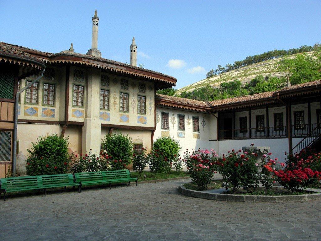 Ханский дворец бахчисараи картинки