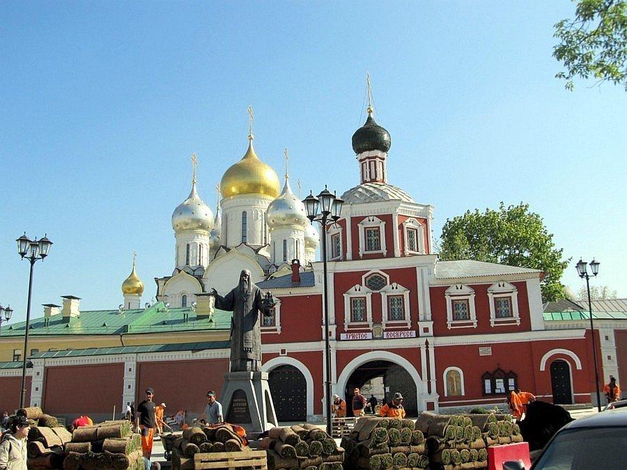 Где находится зачатьевский монастырь в москве фото
