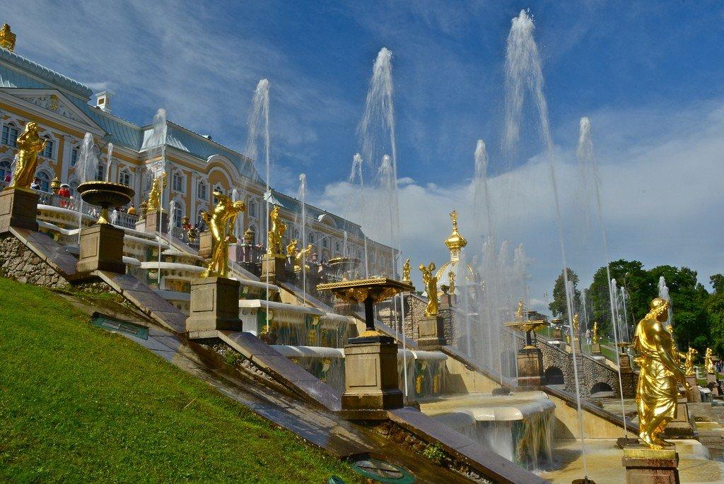 Петергоф дворцово парковый фото
