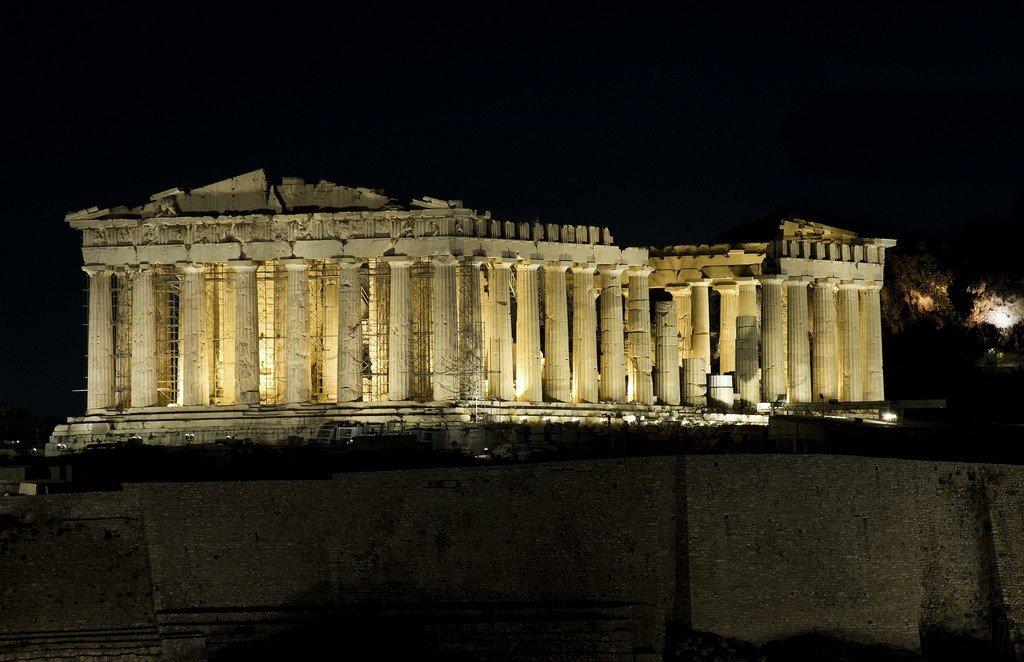 Парфенон древней греции картинки