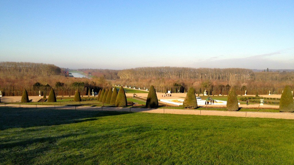фото парк версаль