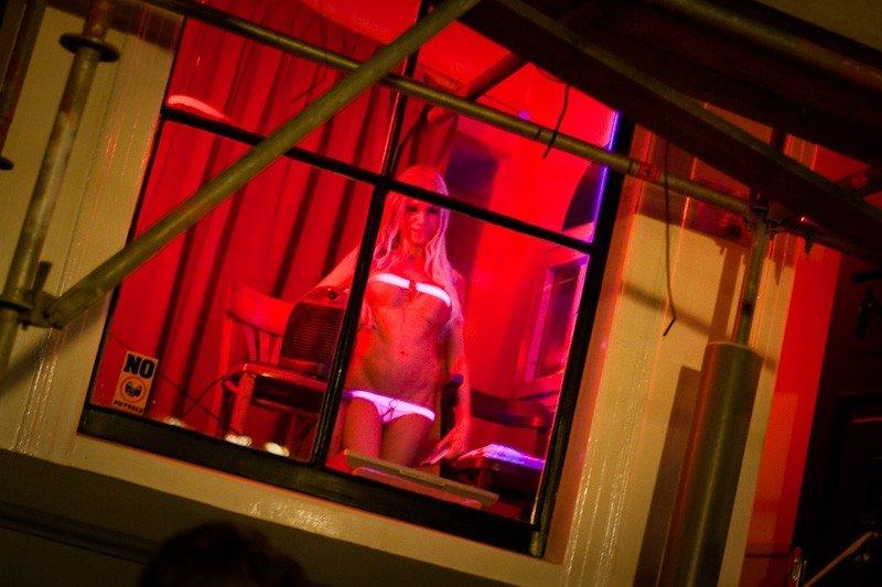 Проституток амстердама фотографии