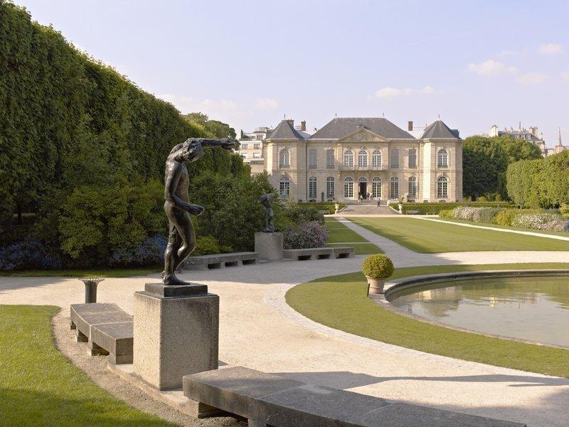 Музей родена париж фото были
