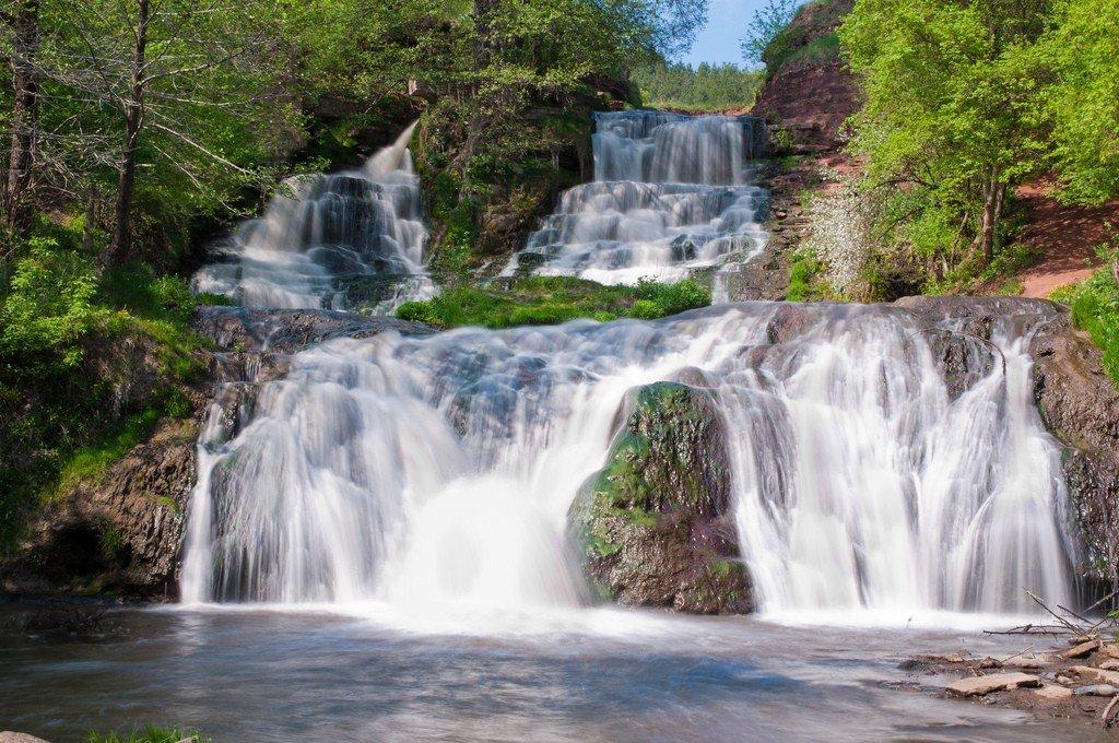 Фото Джуринского водопада (7 фото)