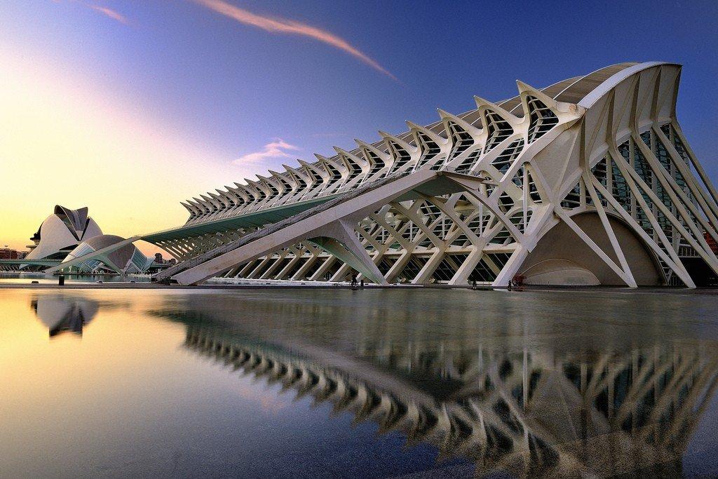 Город искусств и наук в Валенсии — подробная информация с фото