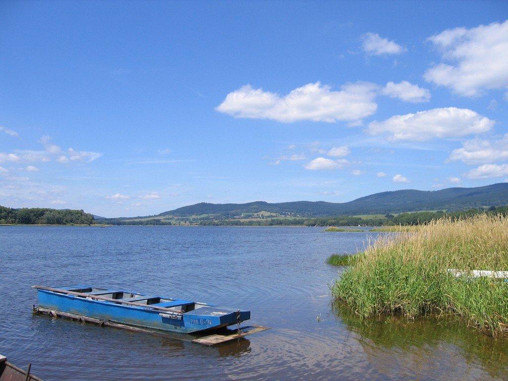 озеро липно чехия фото для
