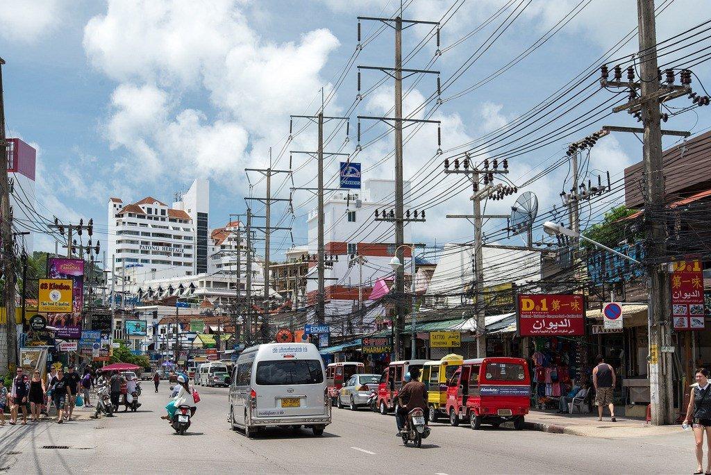 Город патонг картинки