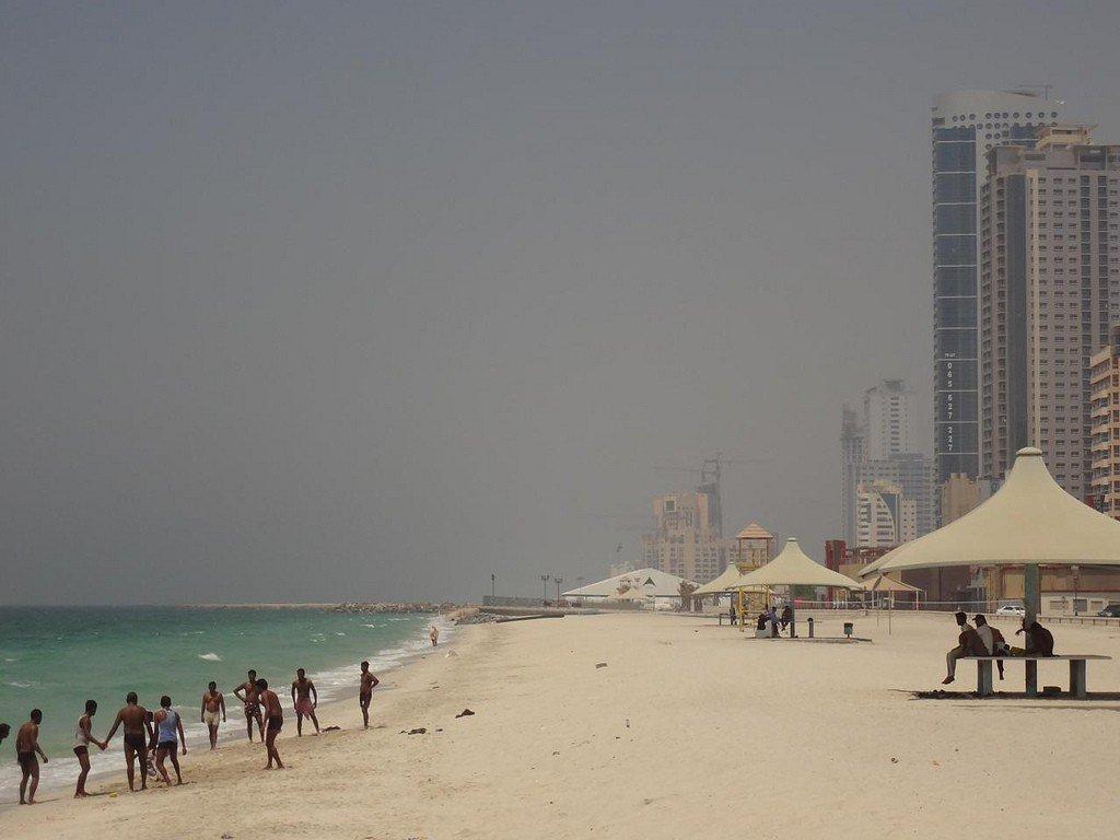 Аджман пляжи фото