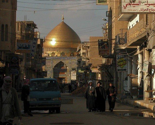 ирак наджаф фото про