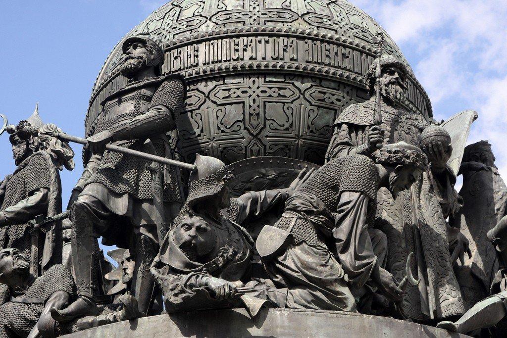 татуировки новгород памятник тысячелетие россии картинка буду углубляться