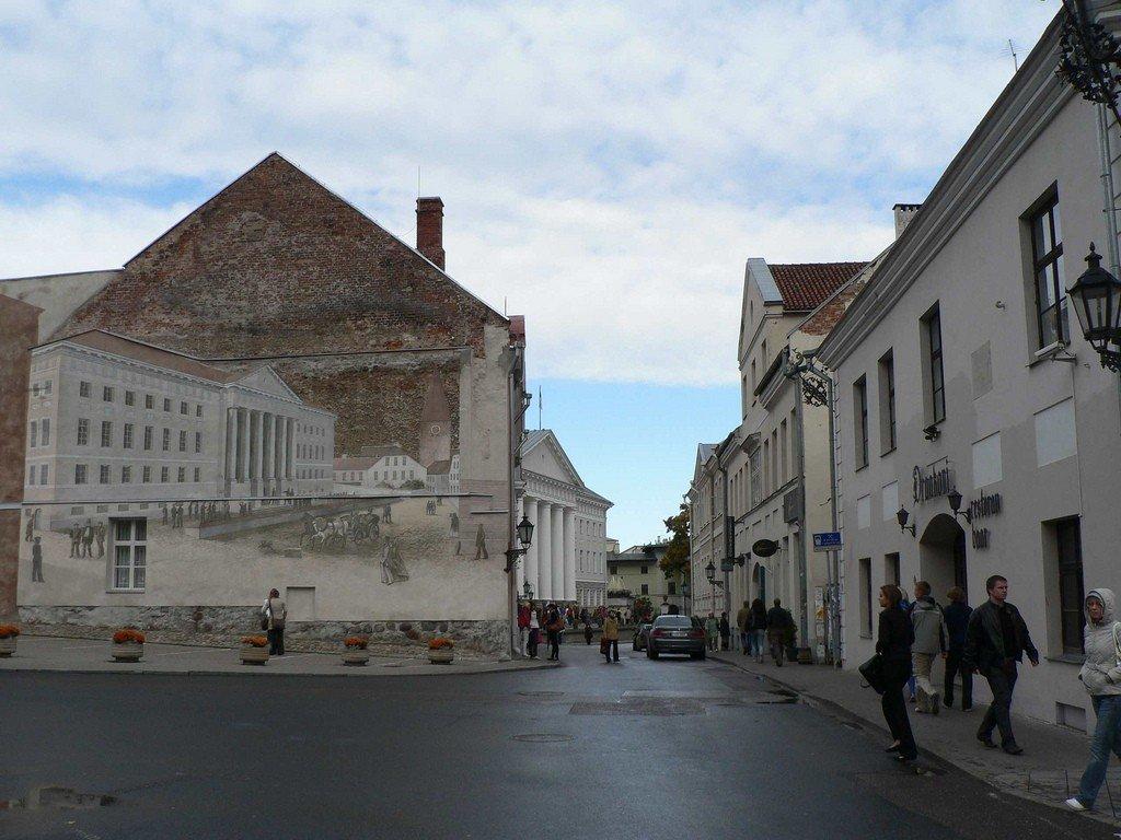 Карта Тарту подробная: районы, названия улиц, номера домов