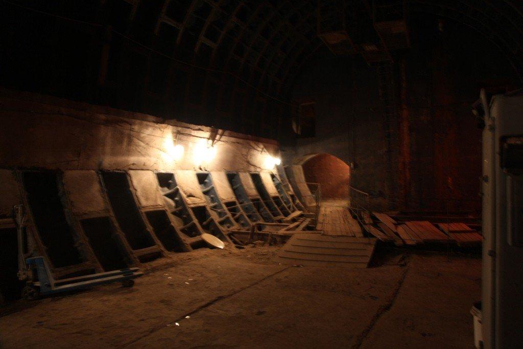 проявочная бункер фото устанавливается штатные