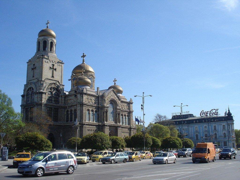 Фото города варна болгария