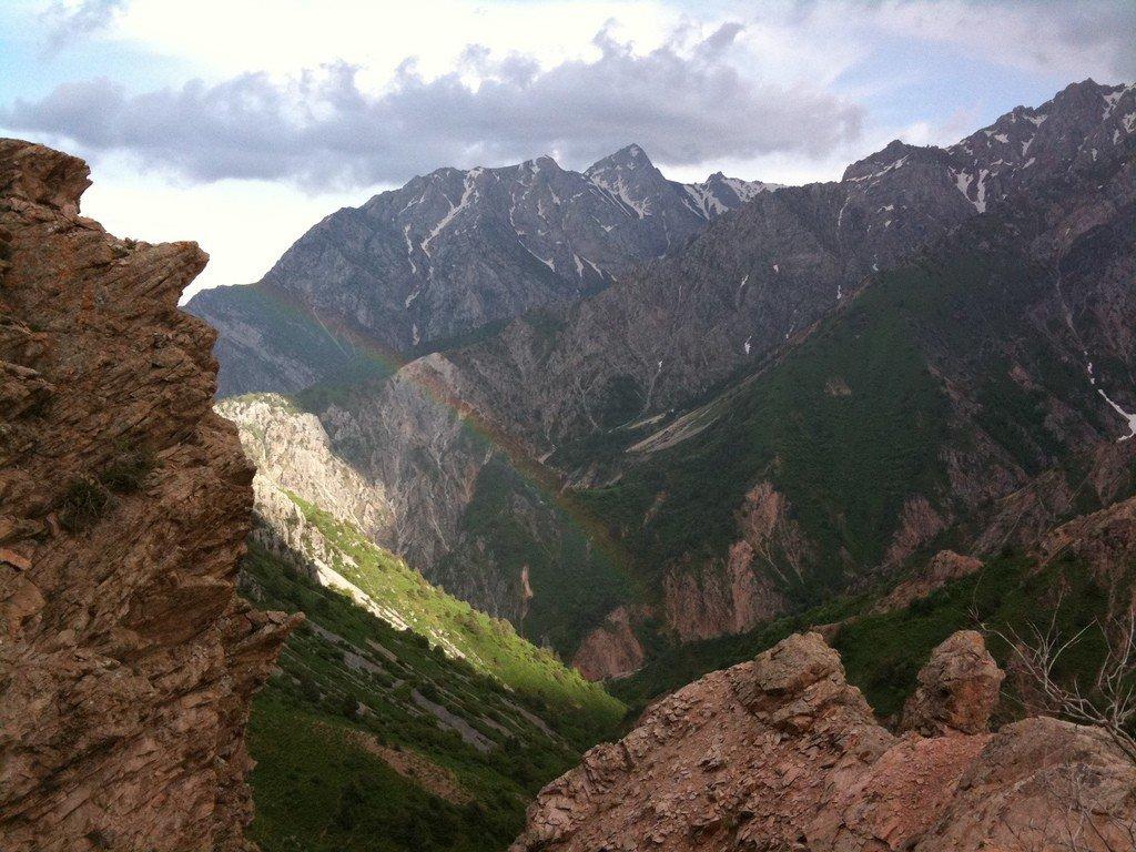 Горы узбекистана чимган фото