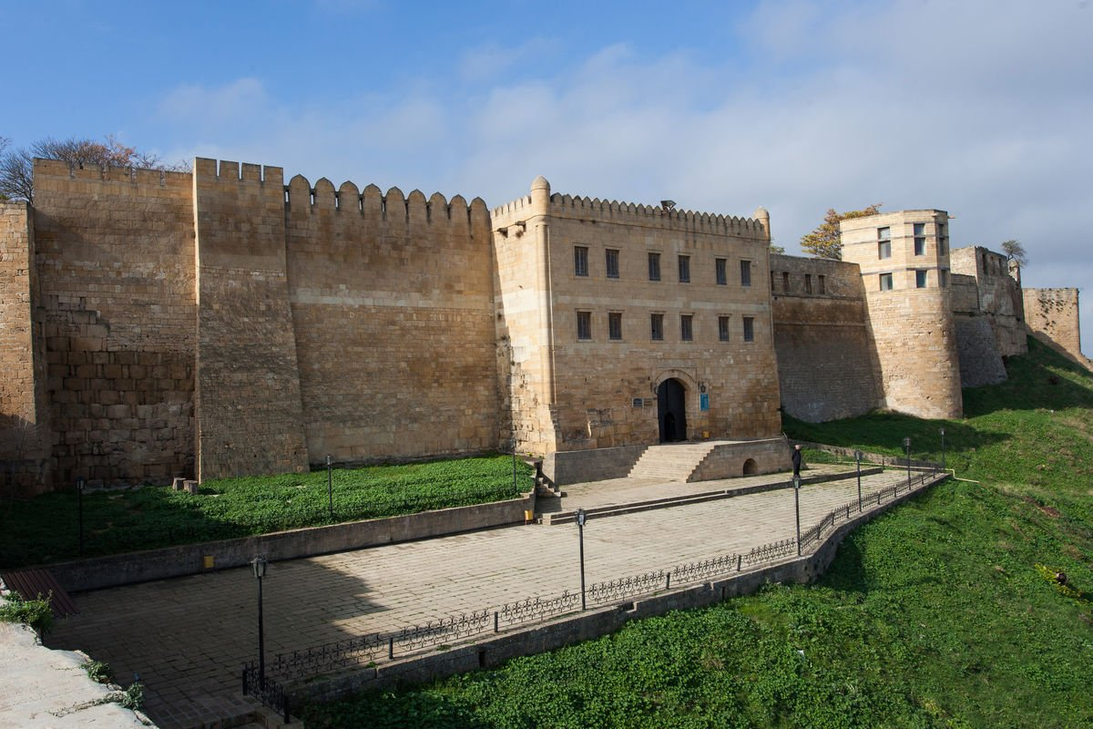 крепость нарын-кала старые фото