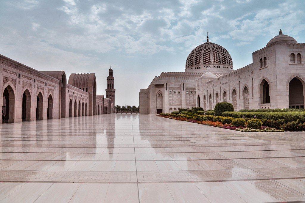 Мечеть в омане фото