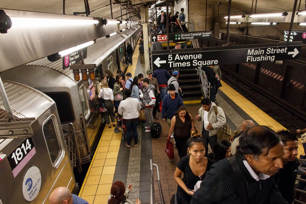 Фото метро схема в нью йорке