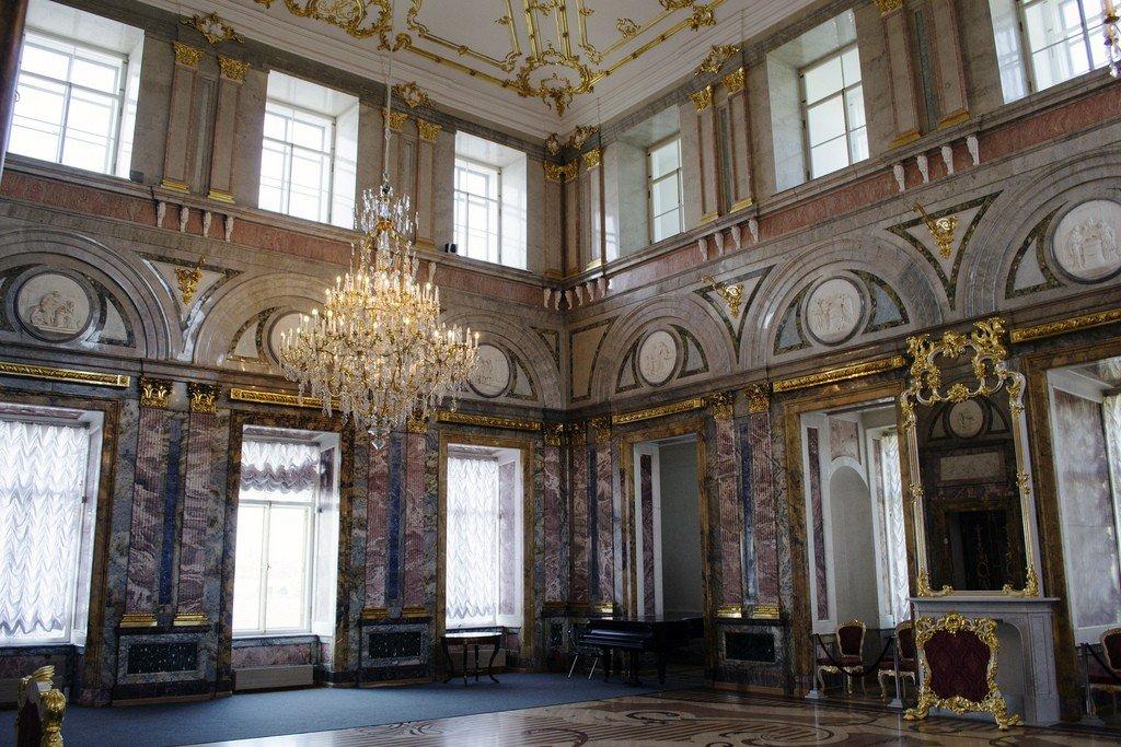 мраморный дворец фото залов они будущим человечества
