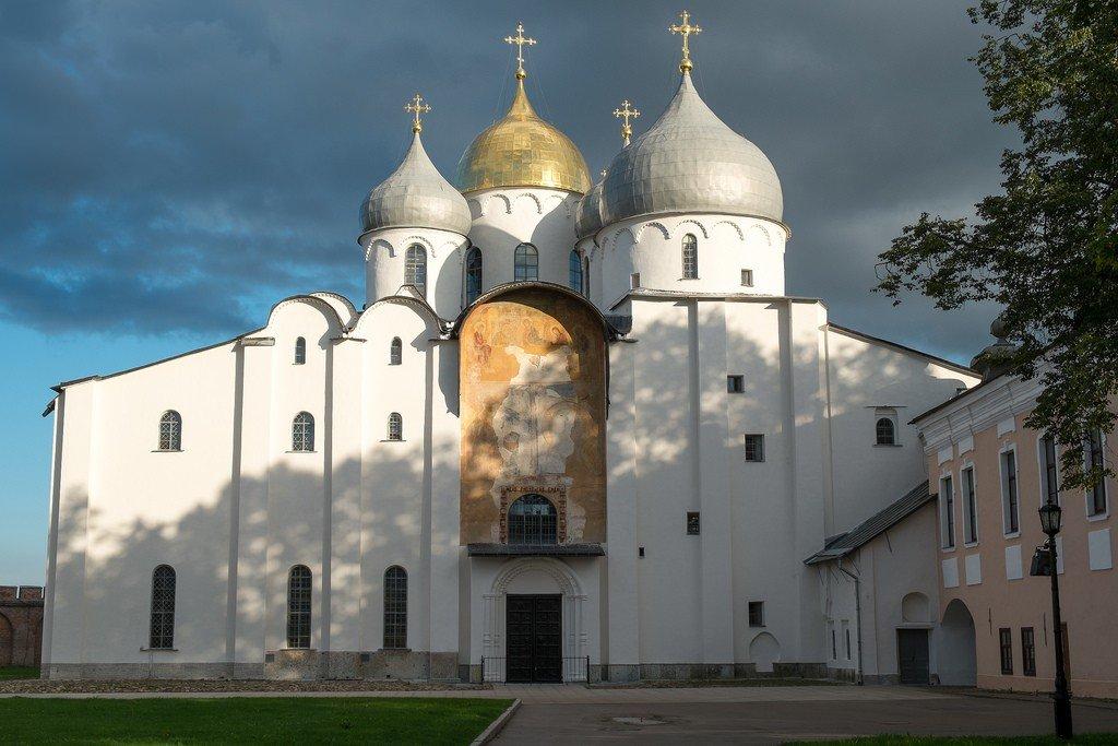Софийский собор в новгороде великом фото