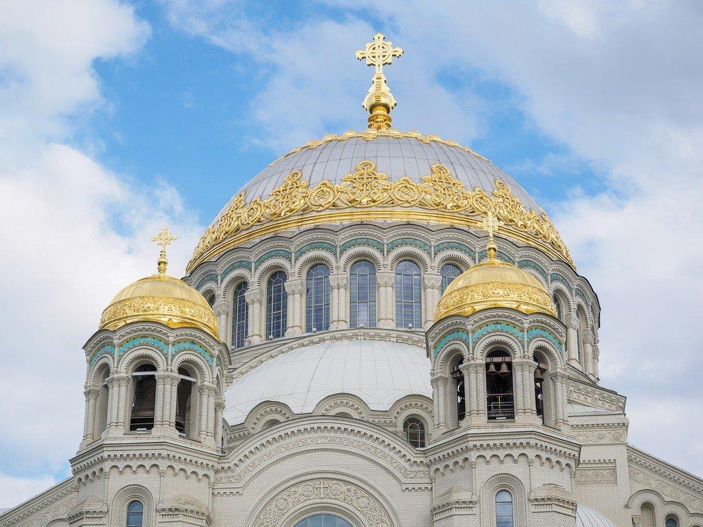 фото морского собора в кронштадте карманах вечно много