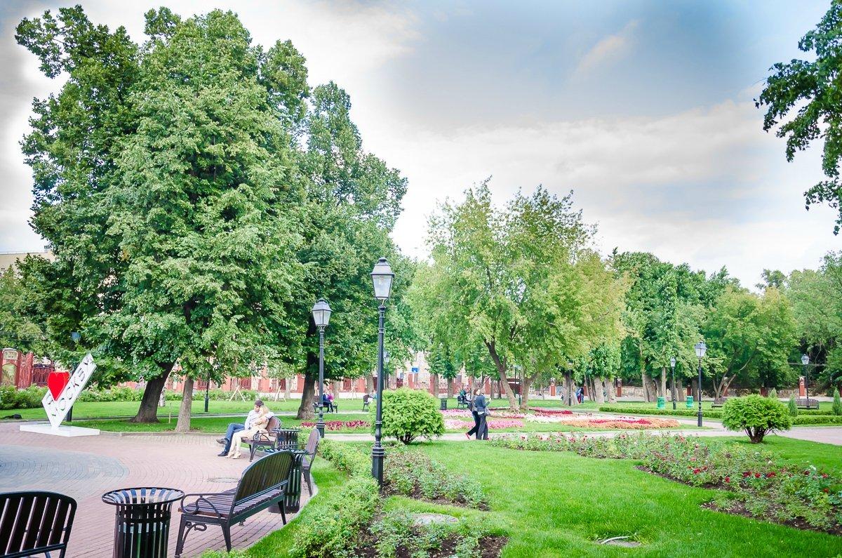 Фото парка горького в харькове