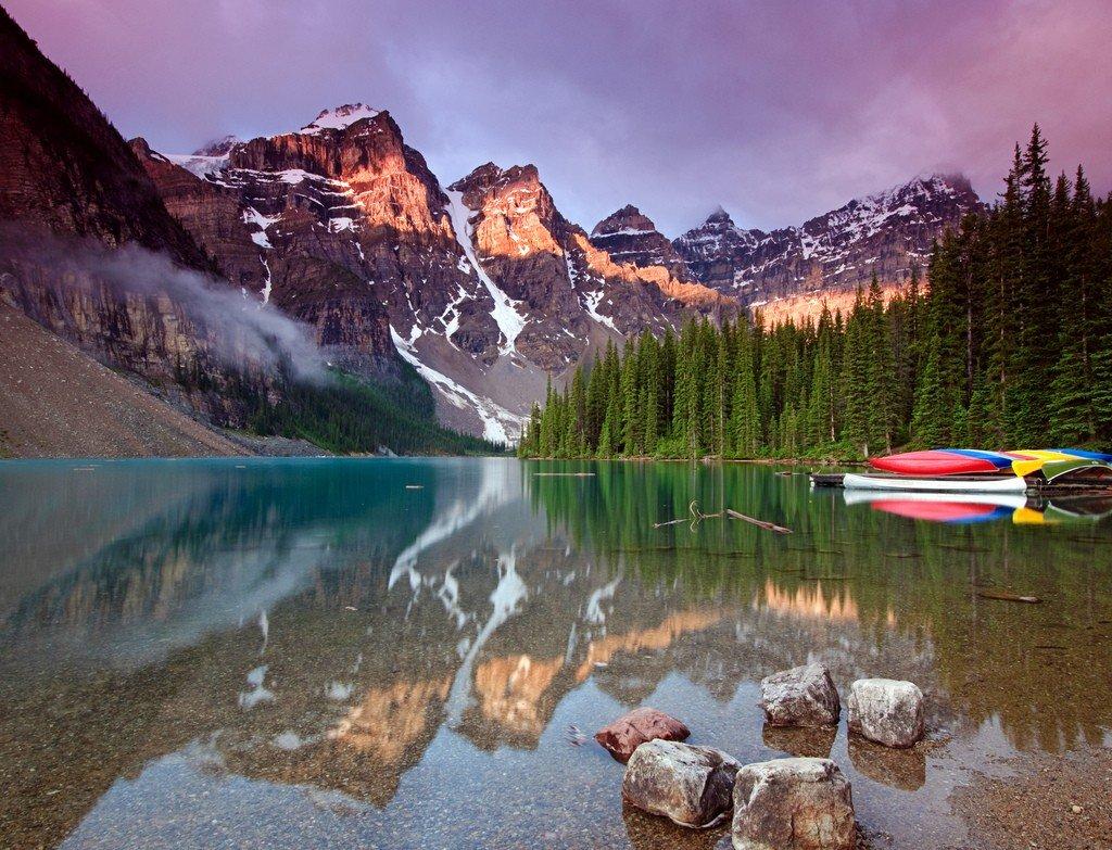 Национальный парк джаспер, альберта, канада / jasper national park, alberta, canada