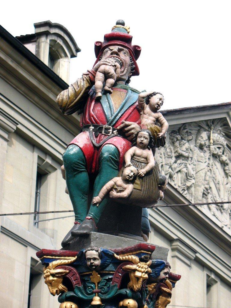 Достопримечательности Швейцарии пожиратель детей фото