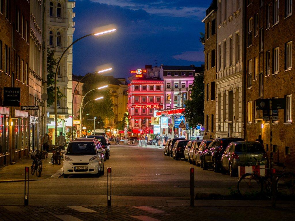 Обои улица, германия, здания, гамбург, красота, Облака. Города foto 14