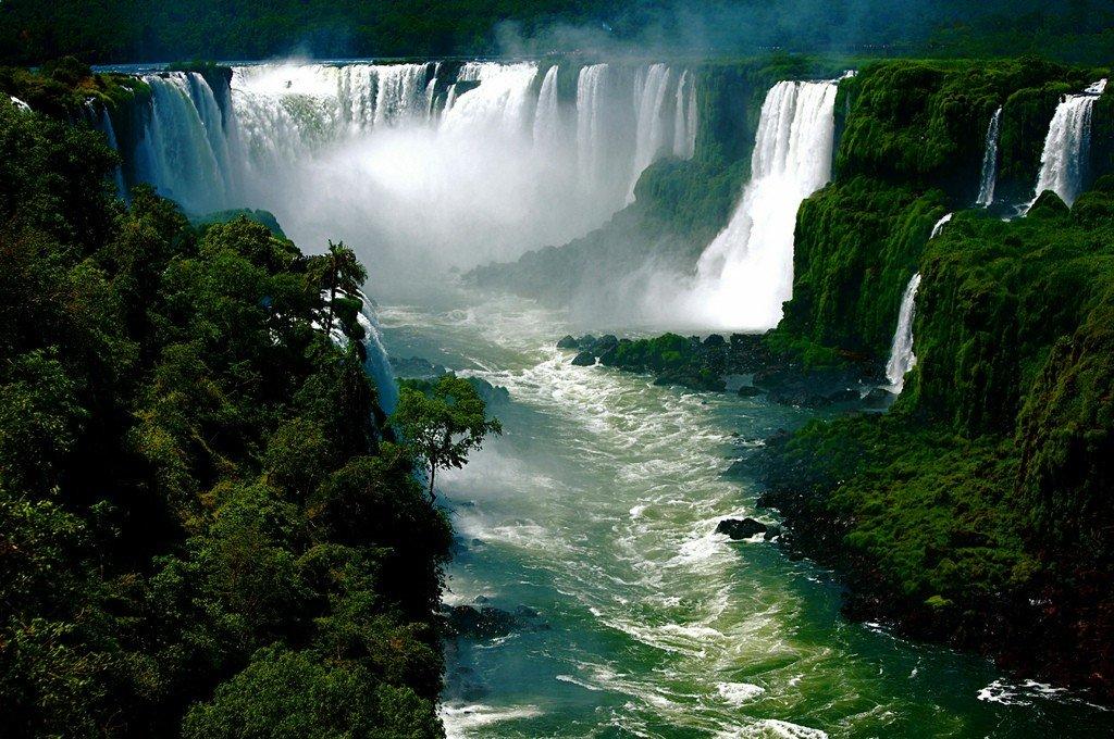 памятника фото бразилии водопады игуасу никогда занимались