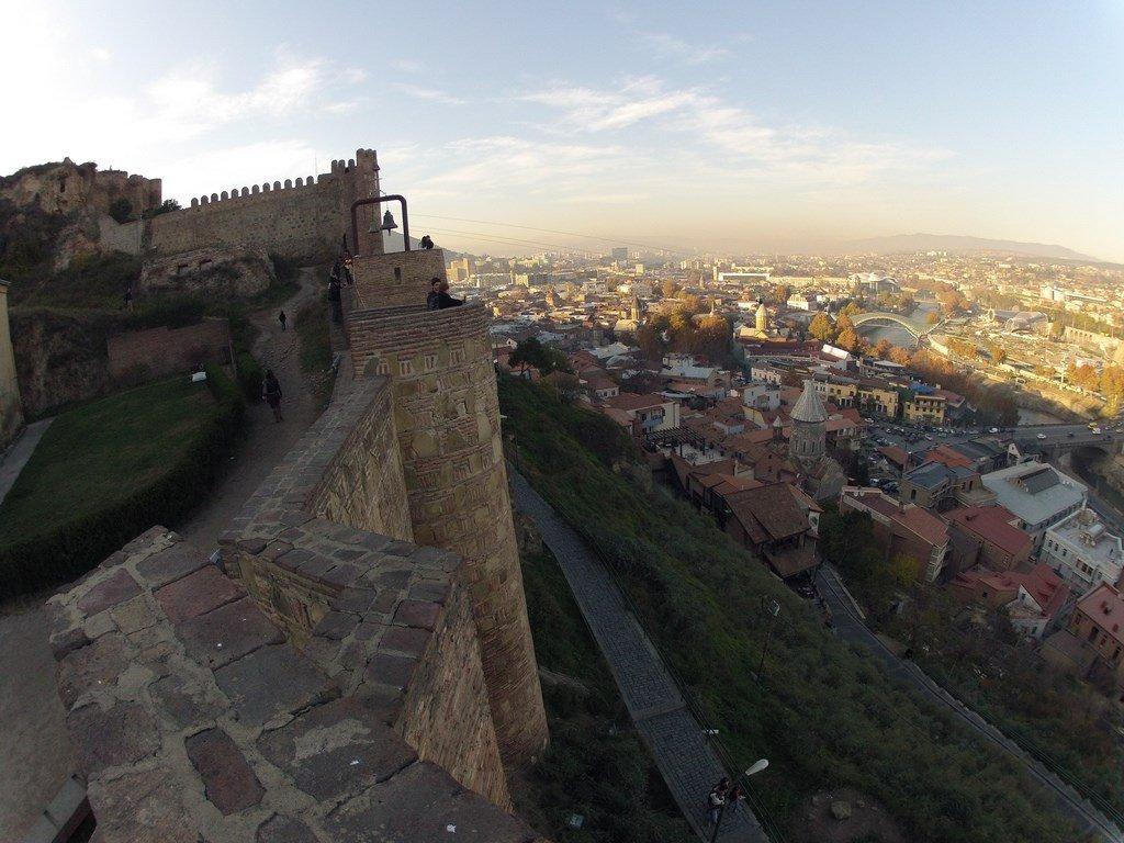 сервис тбилиси и его крепость нарикала фото рассказать вам