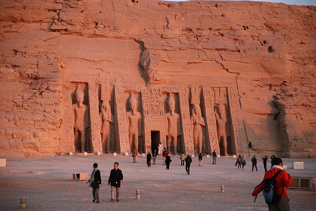 что особый археологический комплекс абу симбел фото где есть