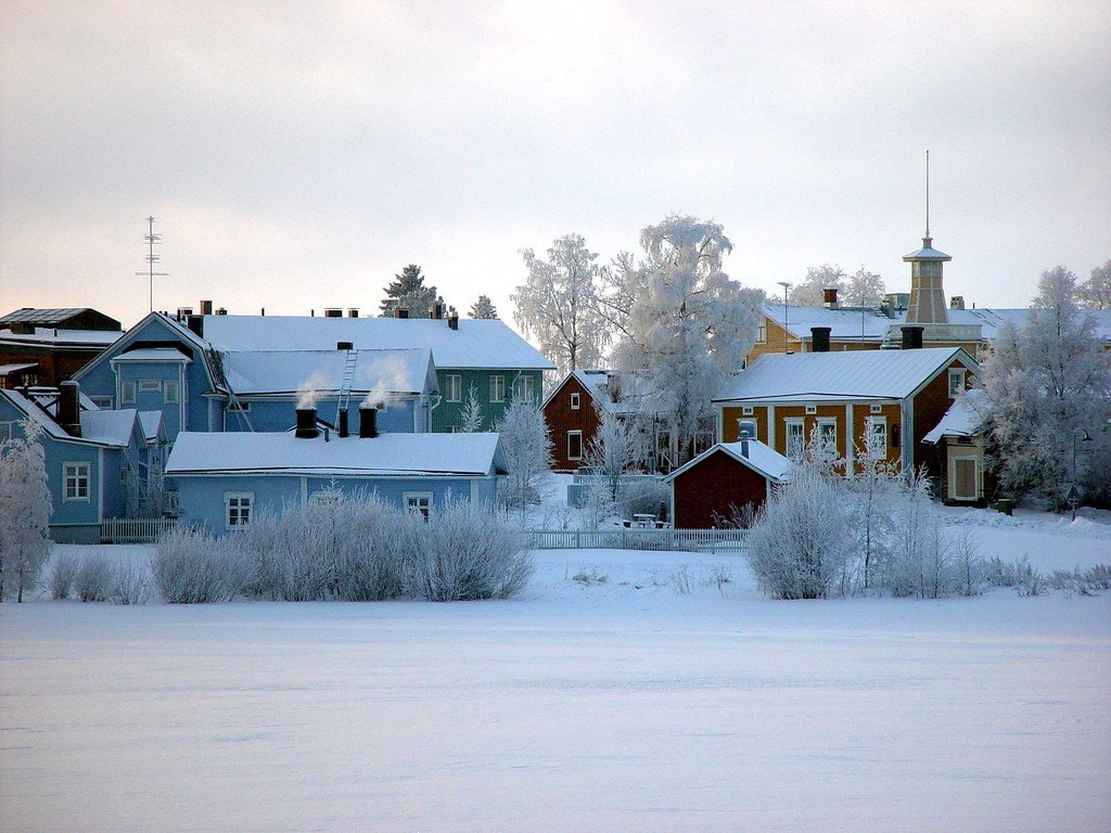Оулу финляндия фото