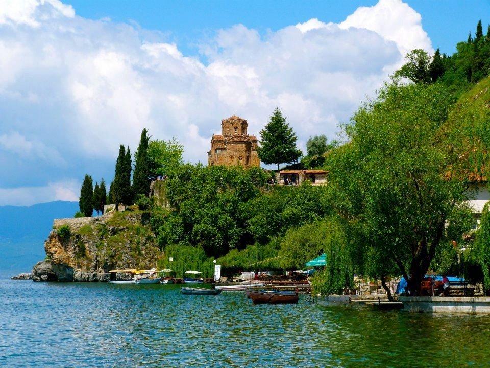 Охридское озеро фото