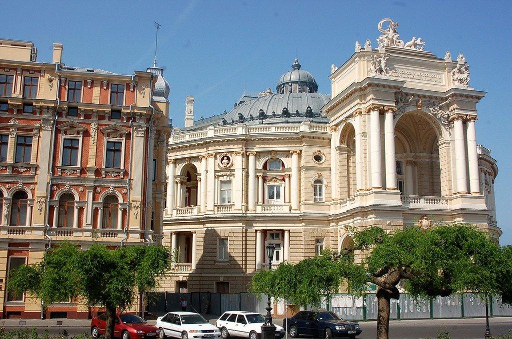 одесский оперный театр фото фотографии