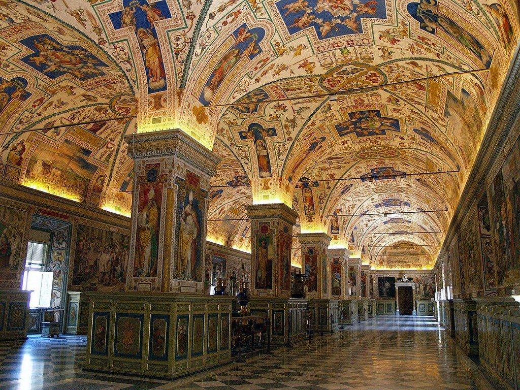 апостольская библиотека фото