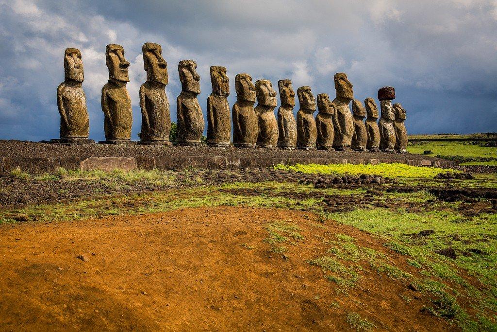 картинка остров пасхи предки
