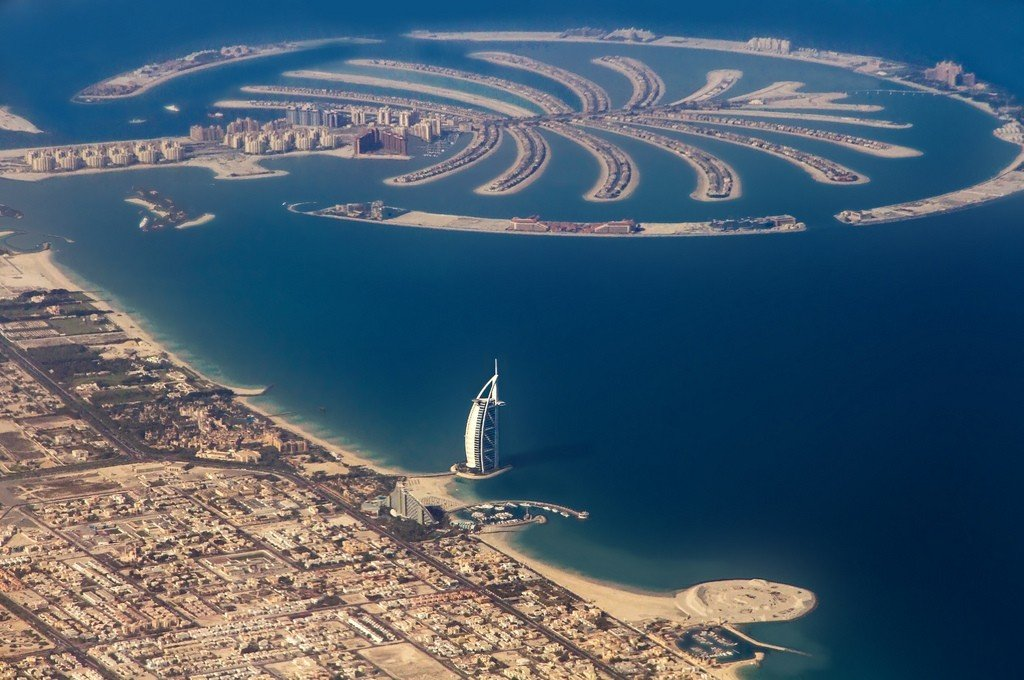 palm jumeirah The hottest address in dubai the revered palm jumeirah is the world's largest man-made island and is comprised of a two kilometre long trunk, a crown made up of 17 fronds and a surrounding crescent.