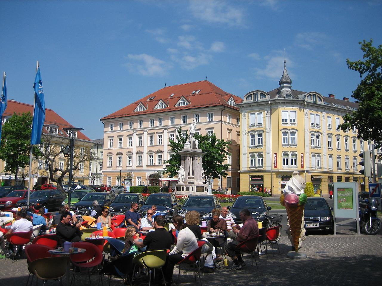 спят, клагенфурт австрия достопримечательности фото был, как