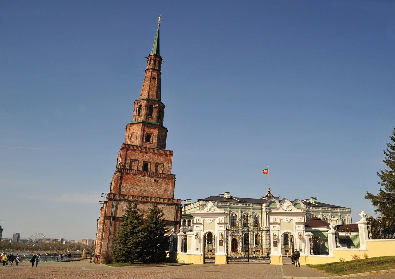 Башня Сююмбике в Казани — подробная информация с фото