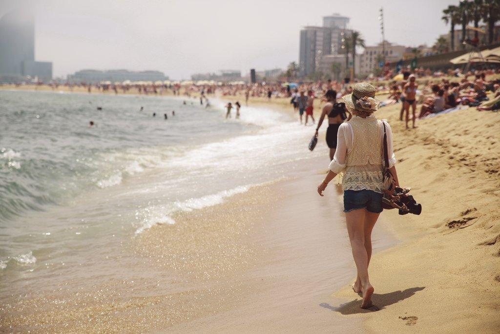 10 пляжей Барселоны Карта  Барселона10  путеводитель по