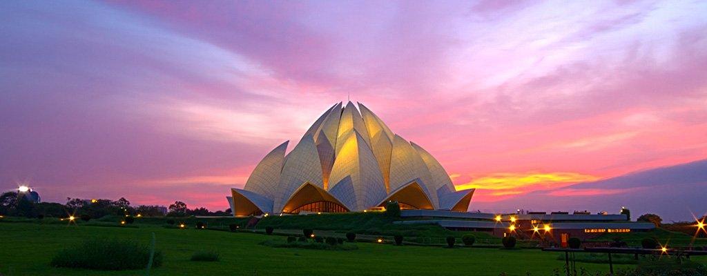 Храм Лотуса в Дели