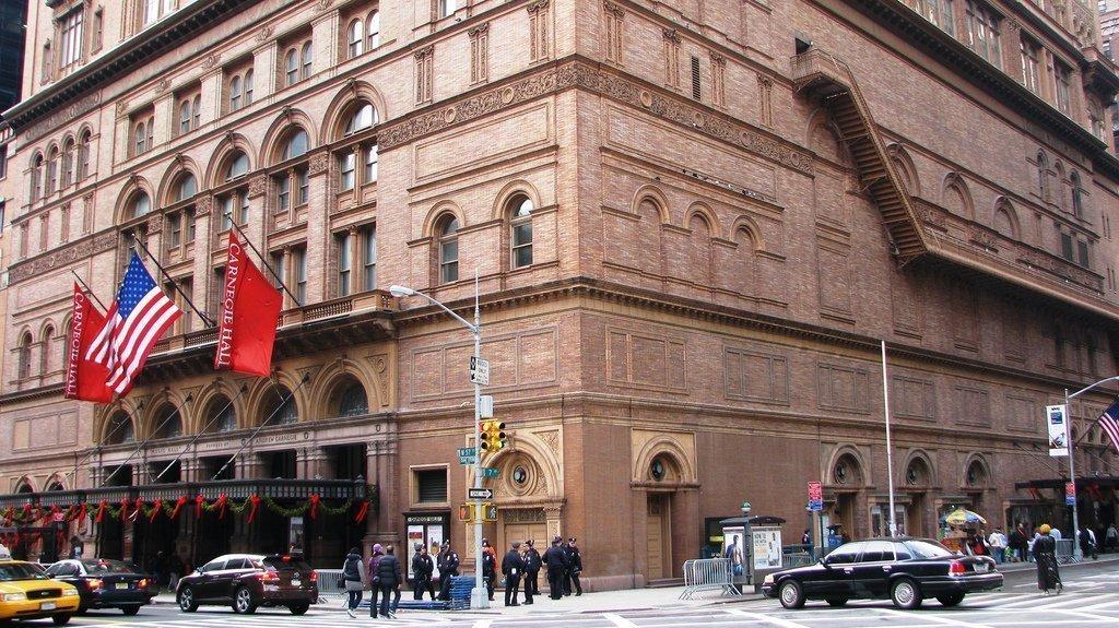 7d7f747181ba Карнеги-Холл в Нью-Йорке — подробная информация с фото
