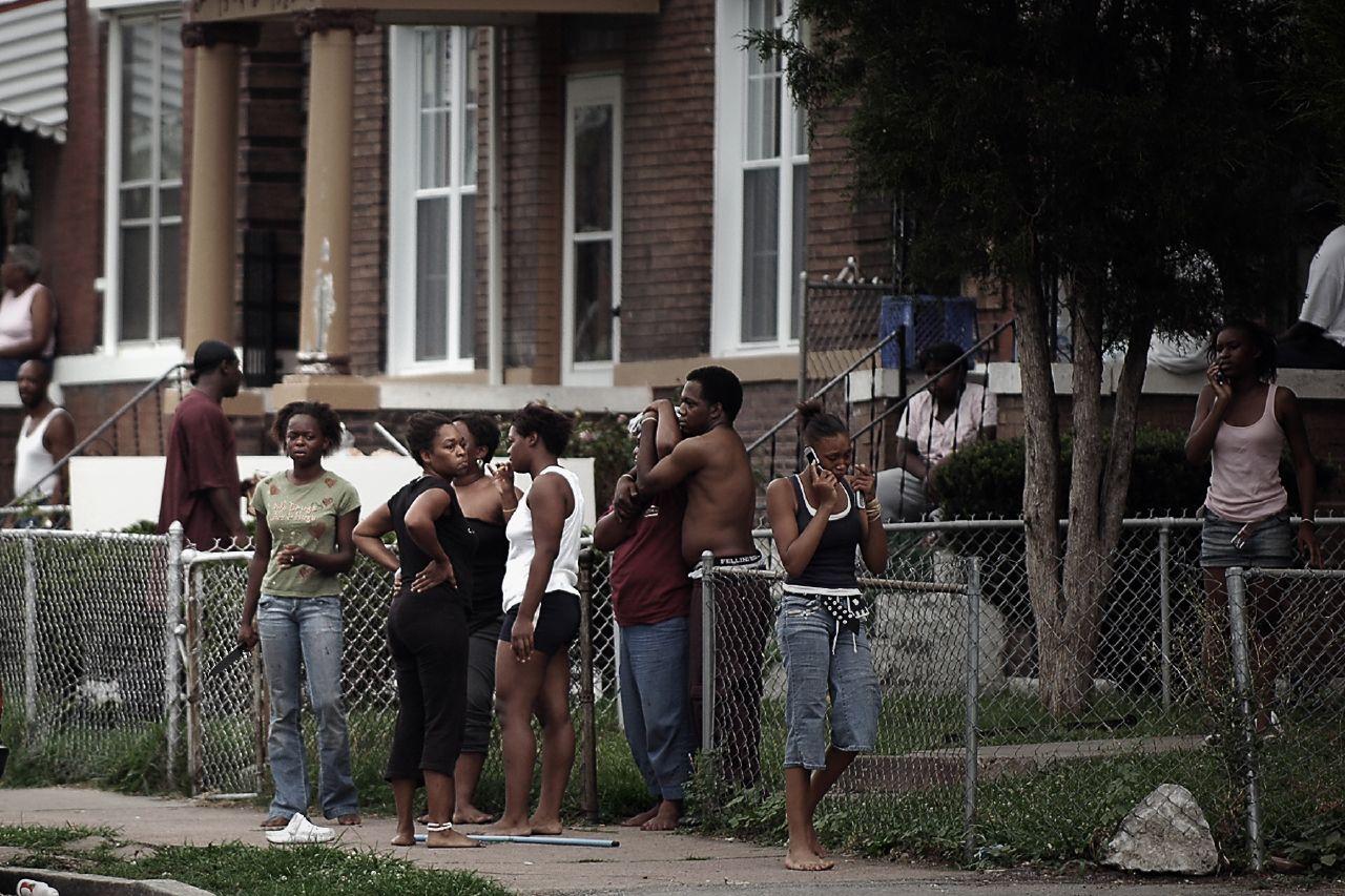 атмосфера, повседневная америка гетто в фото каким-либо