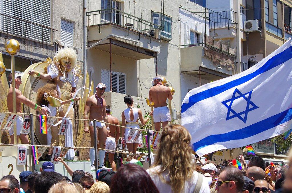 Гей-парад в Израиле.